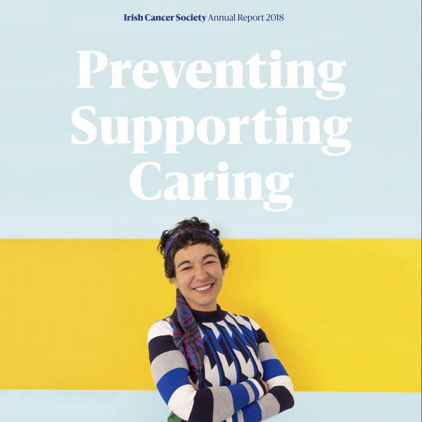 Image of the cover of the Society's 2018 annual report