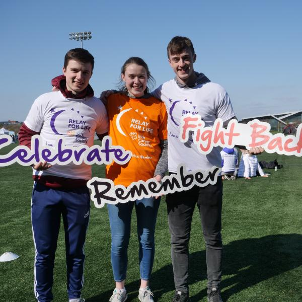 Relay For Life participants at UCD