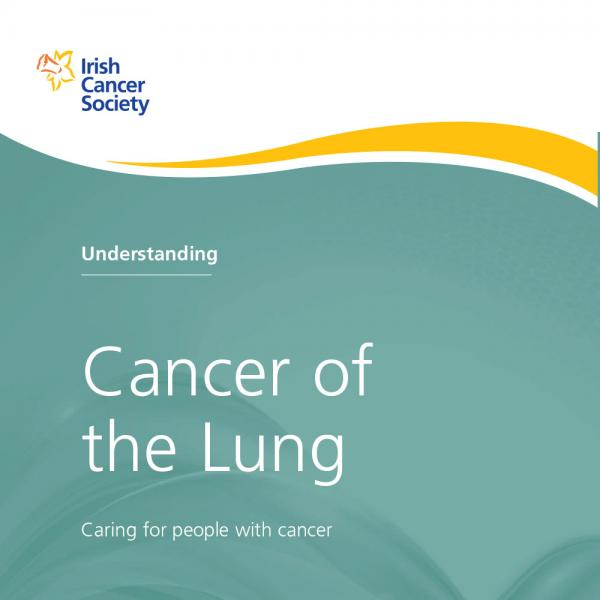 Lung cancer booklet