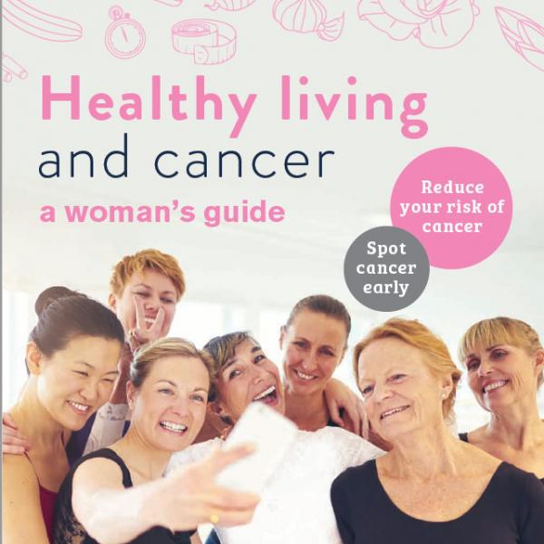 Healthy living woman's guide booklet