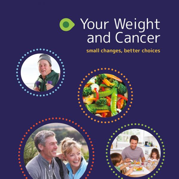 Your Weight and Cancer booklet