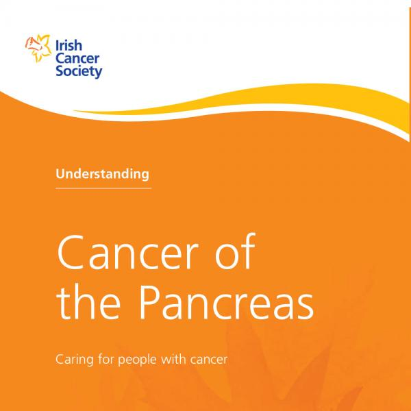 Pancreatic cancer booklet