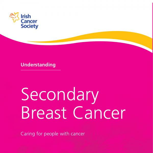 Secondary breast cancer booklet