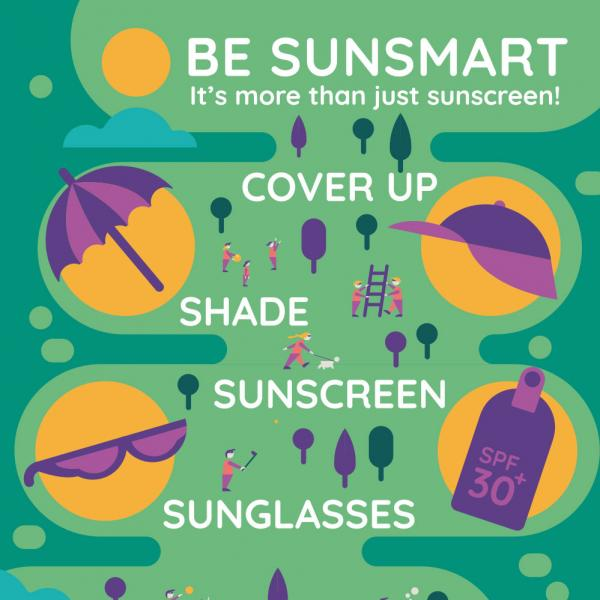 Be SunSmart poster