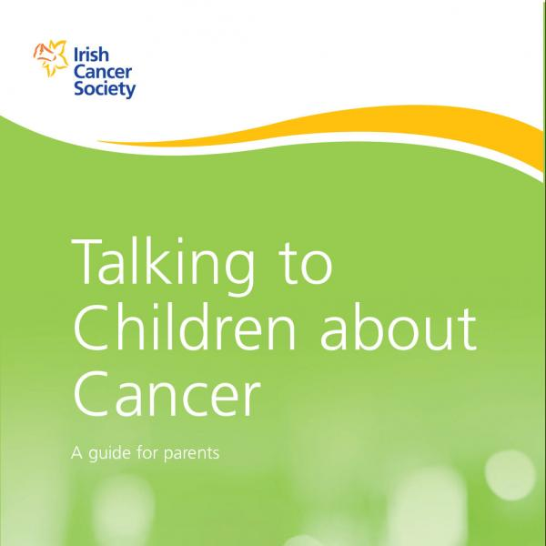 Talking to children about cancer booklet