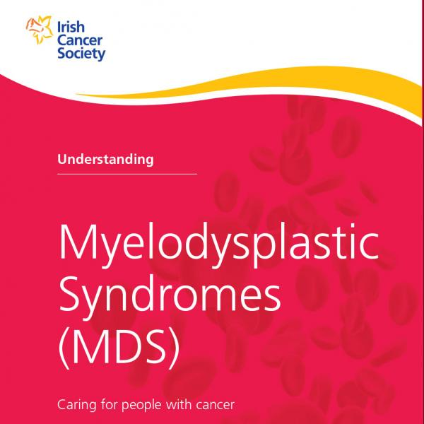 Understanding Myelodysplastic Syndromes MDS booklet
