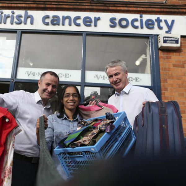 Irish Cancer Society charity shop