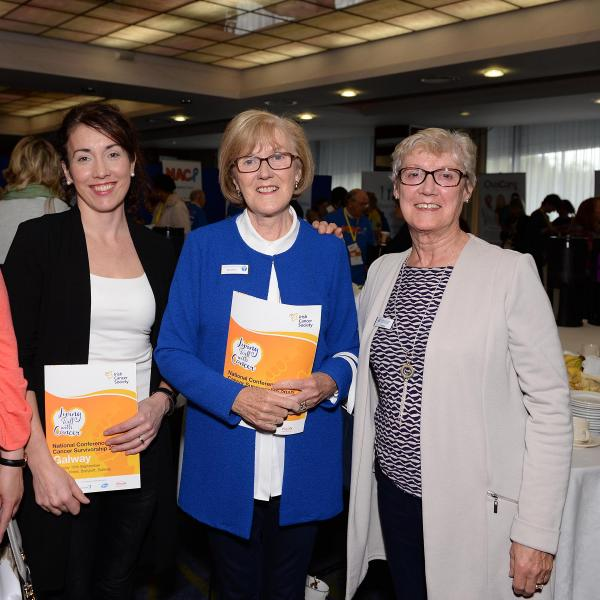 Group of women from cancer support centres