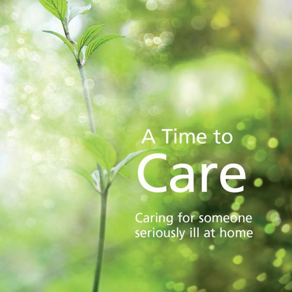 A Time to Care booklet