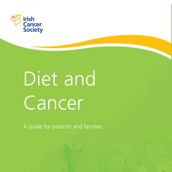 Diet and Cancer booklet