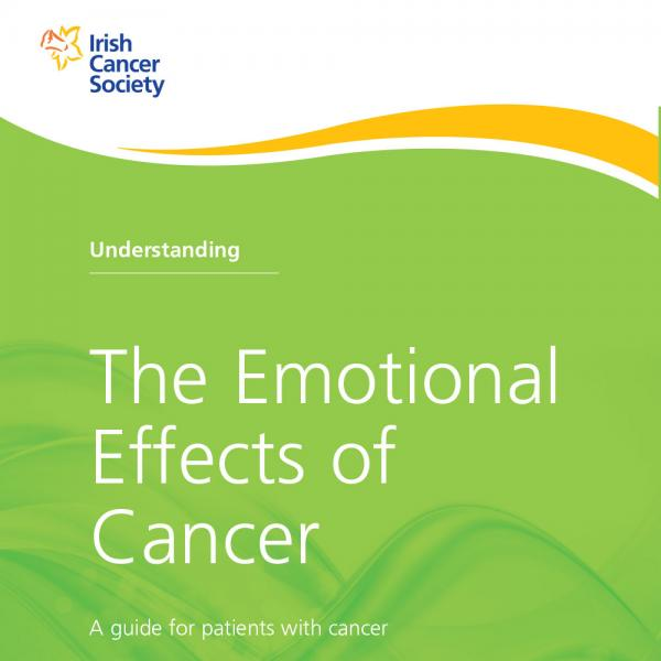 Understanding the Emotional Effects of Cancer booklet