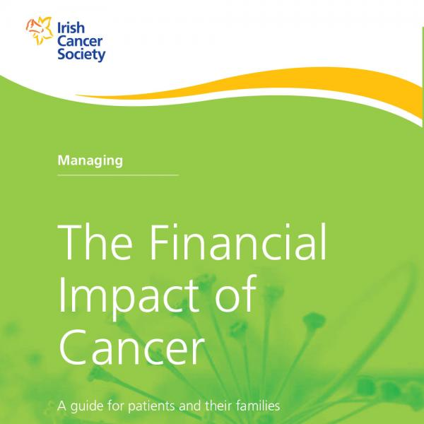 Managing the Financial Impact of Cancer booklet