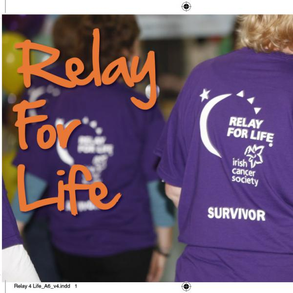 Relay For Life thank you cards