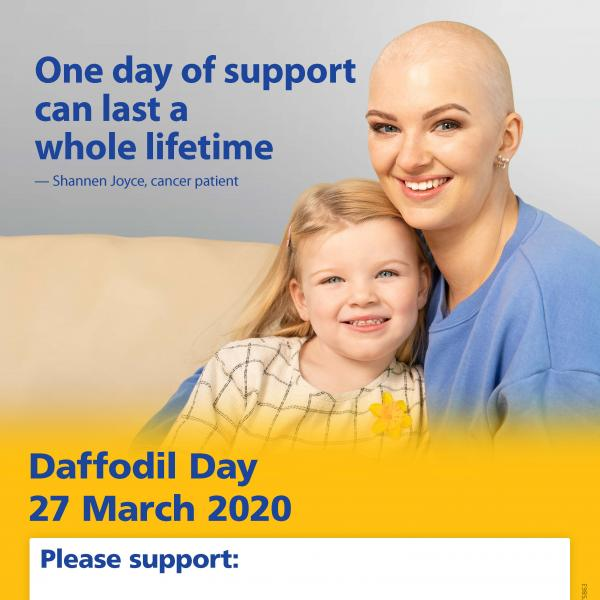Daffodil Day 2020 Event Poster