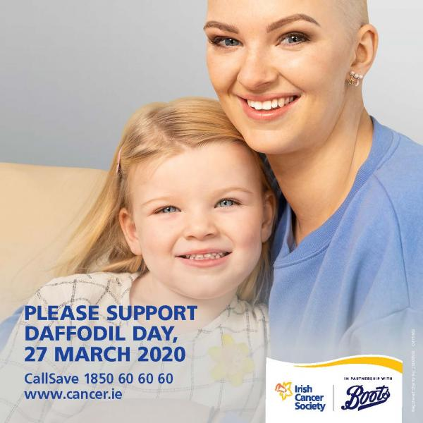 Daffodil Day 2020 Recruitment Poster