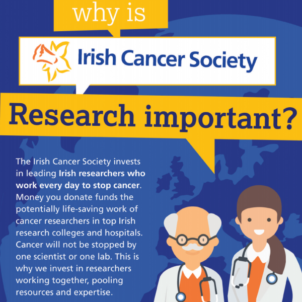 Why is Irish Cancer Society research important?
