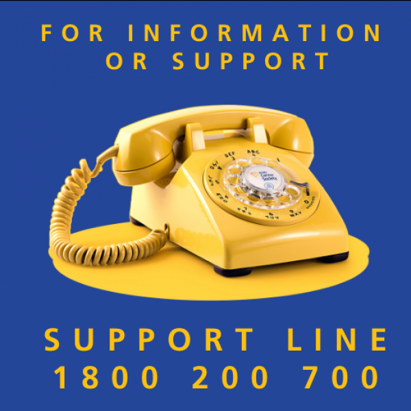 Support Line 1800200700