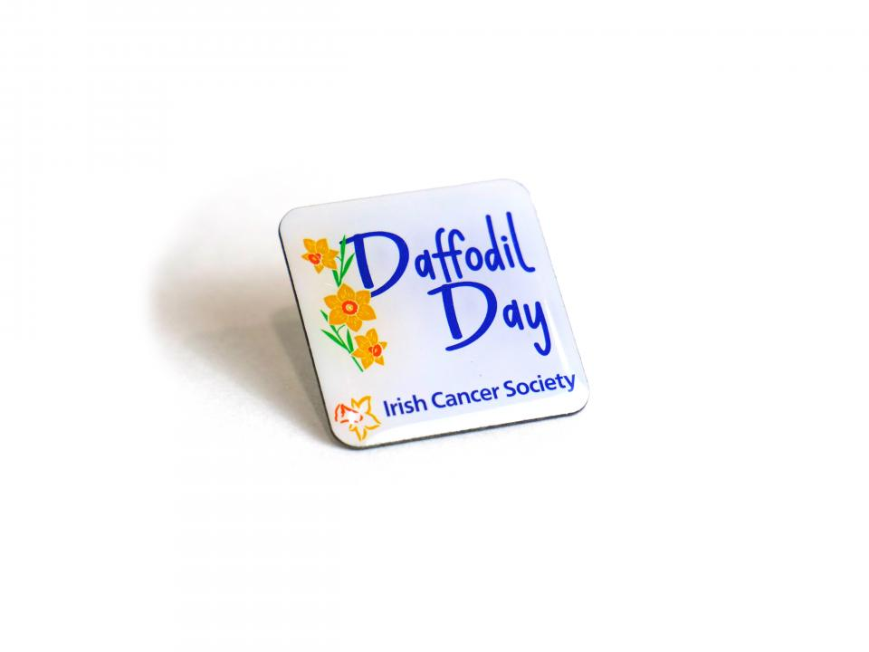 Daffodil Day Lapel Pin