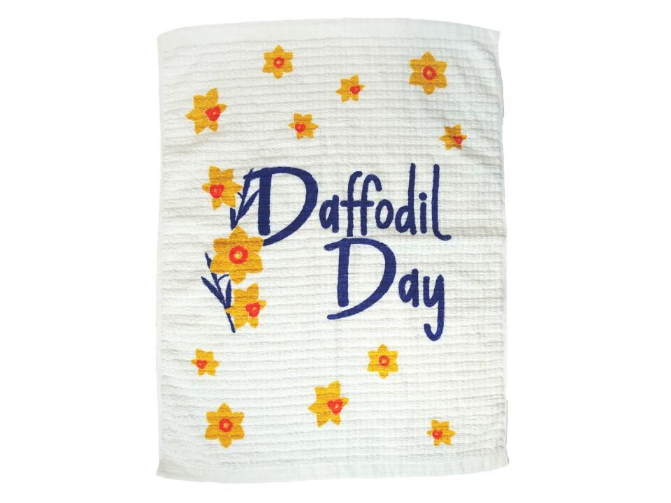 Daffodil Day 2021 tea towels