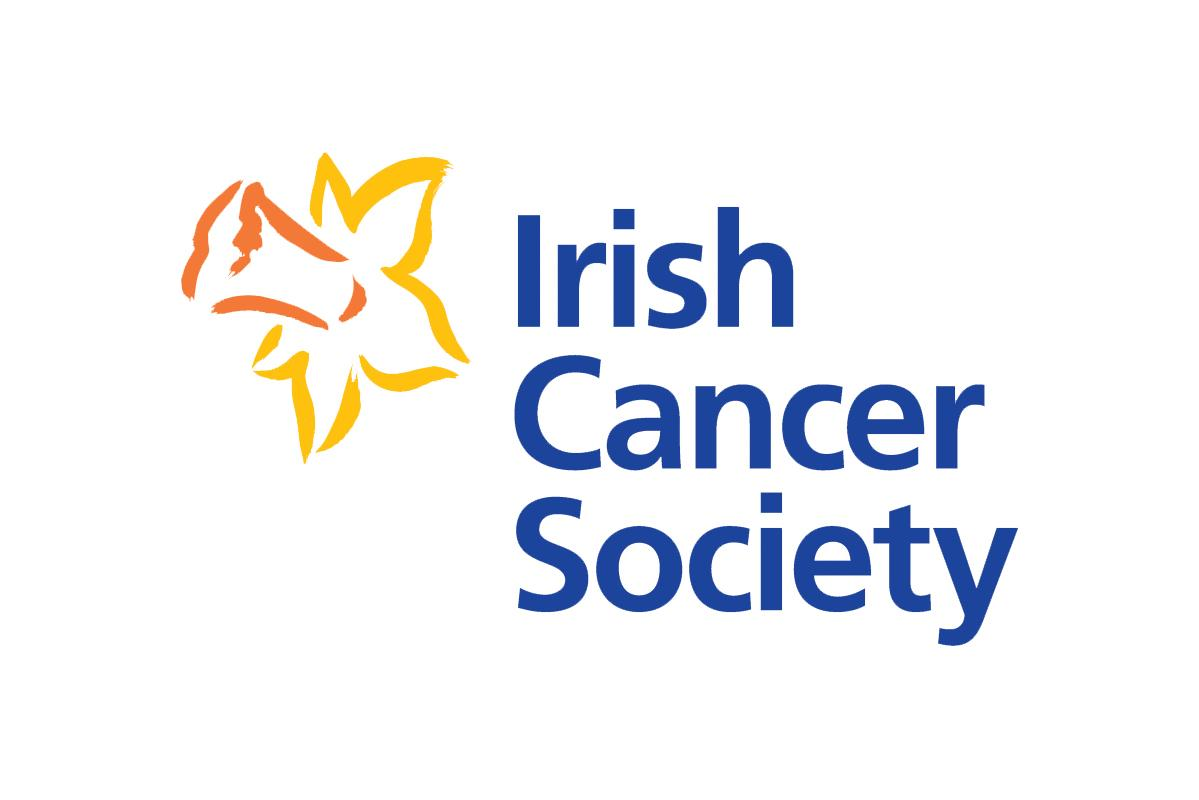 Irish Cancer Society stacked logo