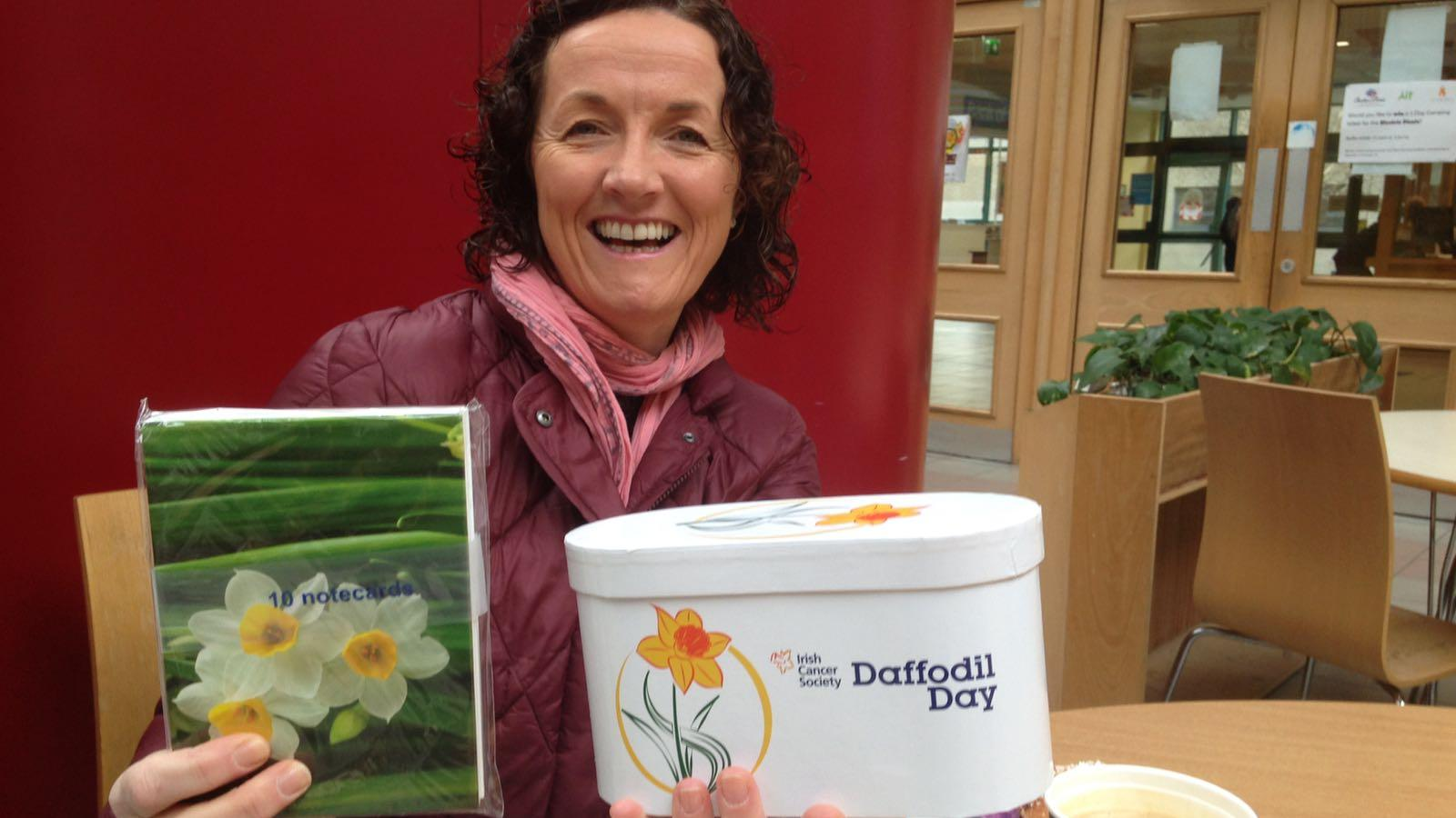 Daffodil Day coffee morning at AIT