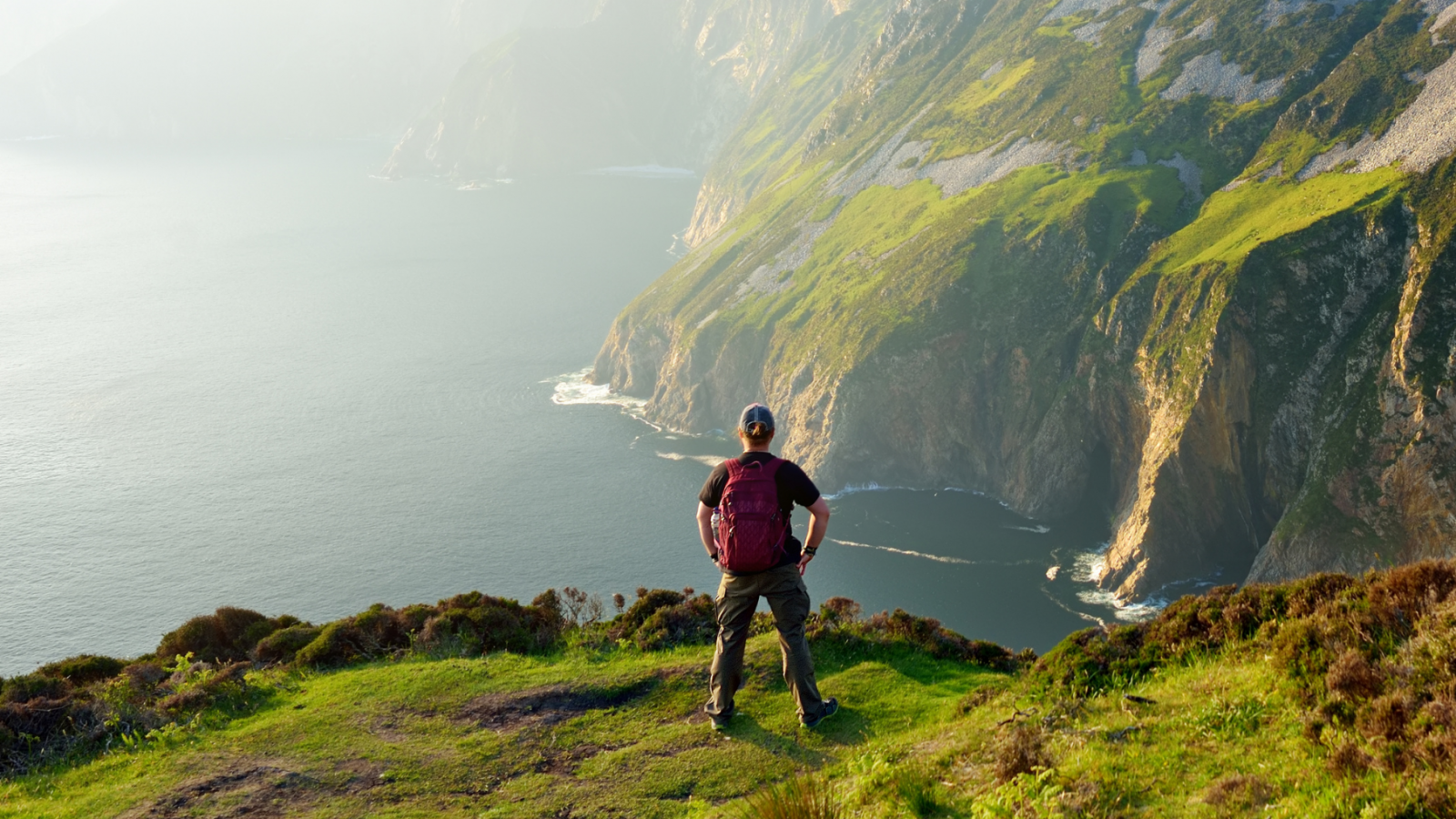 Trek the Distance - man hiking in Ireland