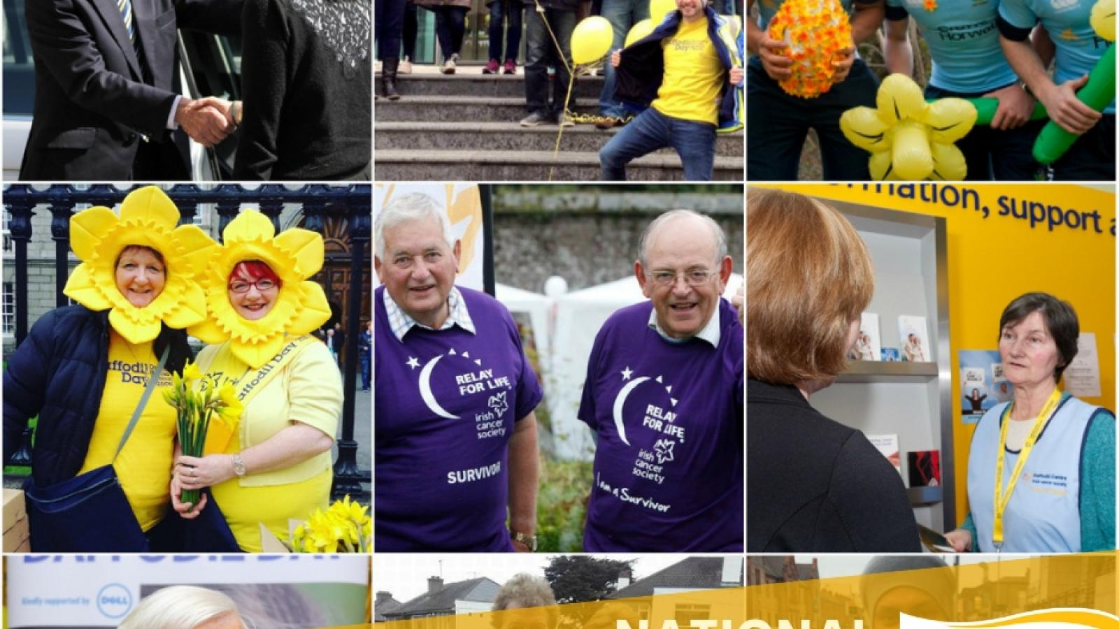 Irish Cancer Society volunteers