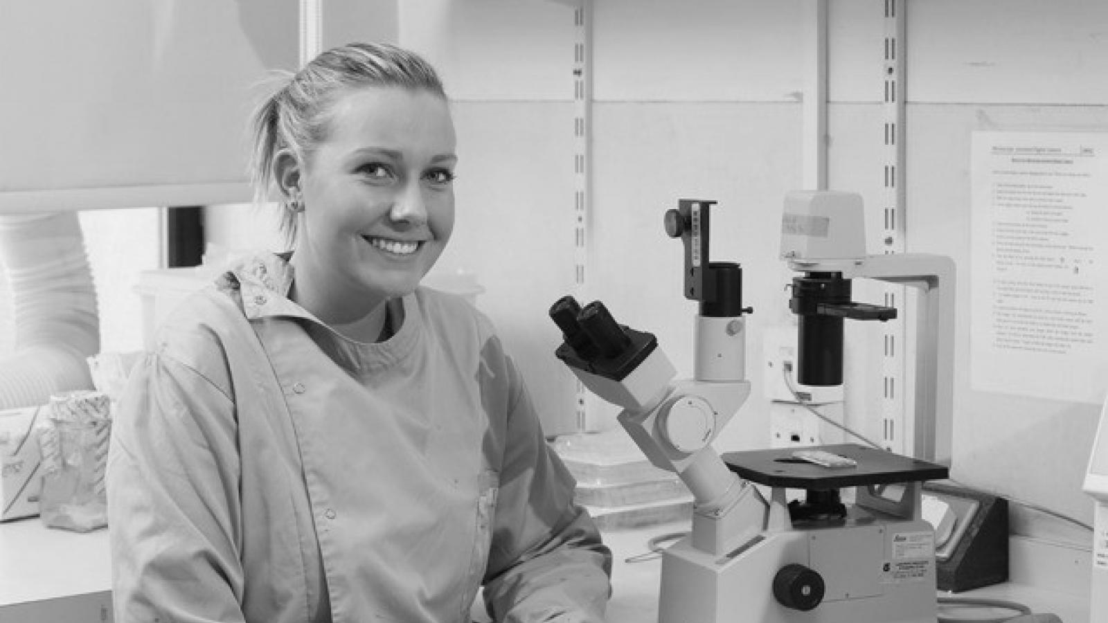 Cancer researcher Naoise Synnott
